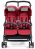 Прогулочная коляска для двойни Peg-Perego Aria Shopper Twin 2016 вид спереди