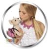Плюшевая собачка Simba Chi Chi Love Чихуахуа с подсветкой арт.5899700