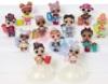 В серию 3 LOL Surprise Glitter входят 12 кукол с аксессуарами