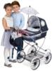 Коляска с сумкой и зонтиком DeCuevas серии Романтик 90 см 82025 подходит для детей от 3х лет