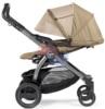 Универсальная коляска 3 в 1 Peg-Perego Book 51 Elite Sportivo положение спинки для сна