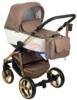 Коляска Adamex Reggio Special Edition 2 в 1 люлька для новорожденных с сумкой для мамы, вид спереди