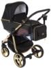 Коляска Adamex Reggio Special Edition 3 в 1 люлька для новорожденных с сумкой для мамы, вид спереди