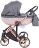 Коляска Adamex Chantal Star Collection 3 в 1 люлька для младенцев, вид сбоку