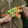 Бластер NERF Зомби Альтернатор E6187 стреляет 1-ой, 2-мя и 3-мя стрелами одновременно
