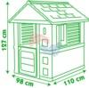 Размеры домика Smoby Lovely 810705