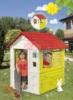 Домик Smoby Lovely 810705 выполнен из высококачественного пластика