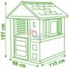Детский игровой домик Smoby Nature 810712 габариты