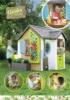 Домик Smoby Садовый 810405 развивает кругозор ребенка