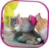 Котенка можно расчесывать в наборе Кошачий домик Smoby с котенком 340400