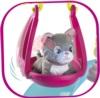 Есть качельки в наборе Кошачий домик Smoby с котенком 340400