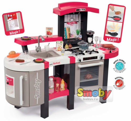Кухня Smoby Tefal Super Chef Deluxe 311304