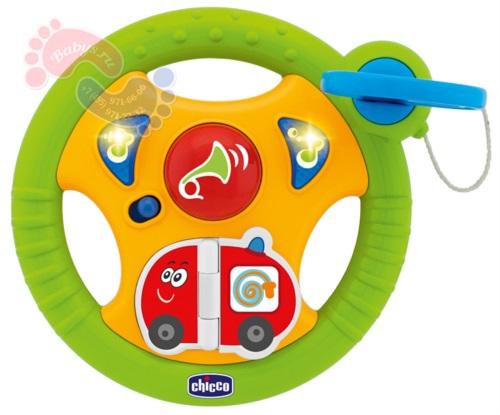 Маленький водитель Детская игрушка Chicco для коляски 6 мес. арт.70285