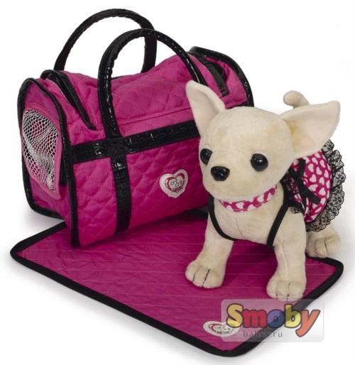 Мягкая игрушка Simba Chi Chi Love Собачка с подсветкой 20 см 5899700
