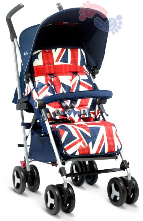 Прогулочная коляска Silver Cross Reflex Cool Britannia