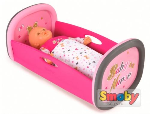 Колыбель для пупса Smoby Baby Nurse арт.220313