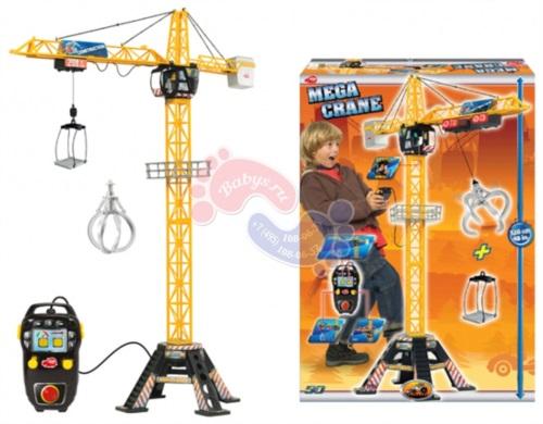 Мега кран Dickie Toys на д/у 120 см 3462412