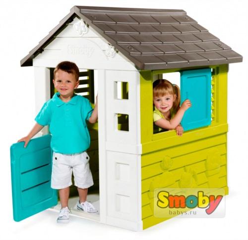 Детский домик BG Pretty Smoby арт.310064 / Смоби
