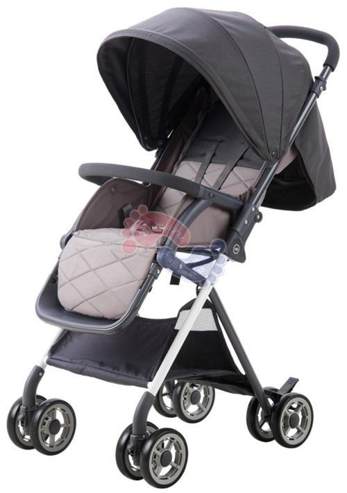 Прогулочная коляска Happy Baby Mia Gray