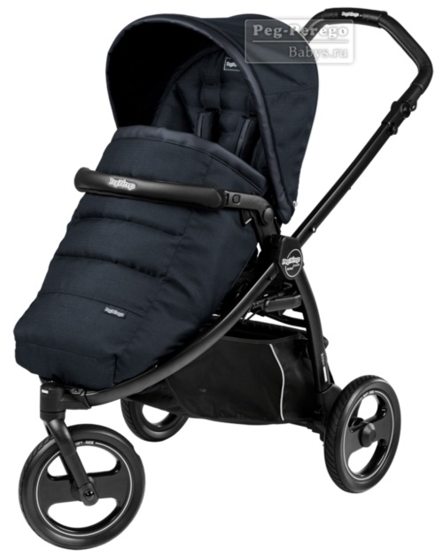 Прогулочная коляска Peg-Perego Book Scout Pop Up Luxe Bluenight