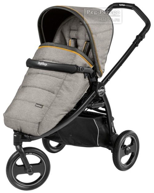 Прогулочная коляска Peg-Perego Book Scout Pop Up Luxe Grey