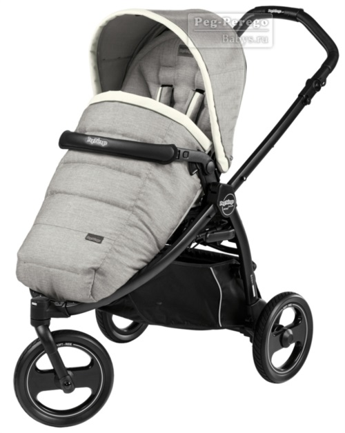 Прогулочная коляска Peg-Perego Book Scout Pop Up Luxe Opal