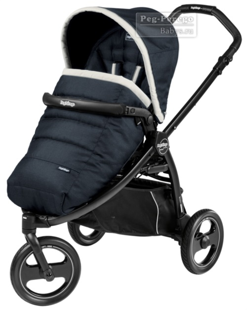Прогулочная коляска Peg-Perego Book Scout Pop Up Luxe Blue