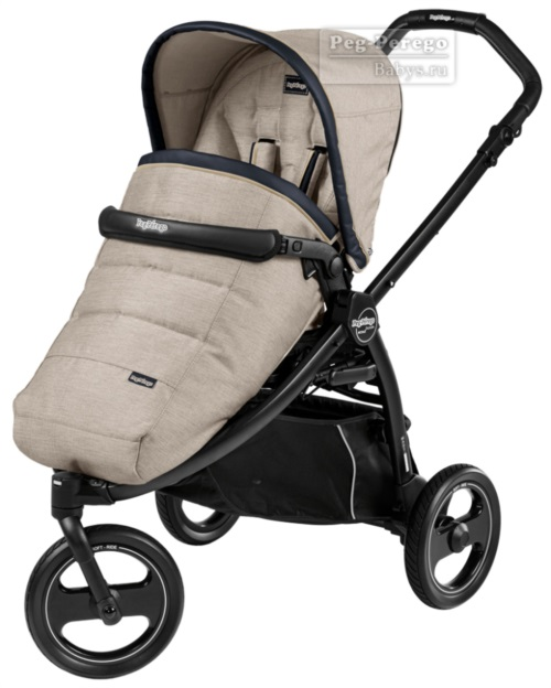 Прогулочная коляска Peg-Perego Book Scout Pop Up Luxe Beige