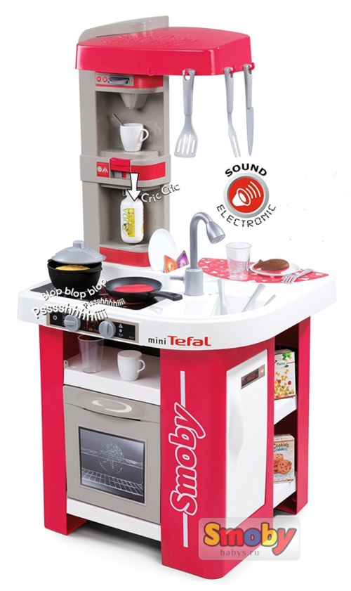 Электронная кухня Smoby Tefal Studio 311022