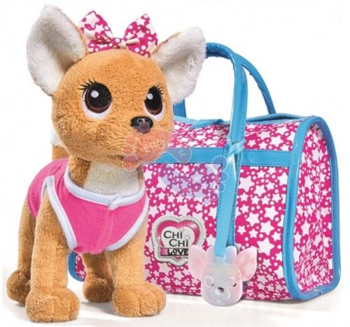 Мягкая игрушка Simba Chi Chi Love Собачка Звездный стиль 20 см 5893115