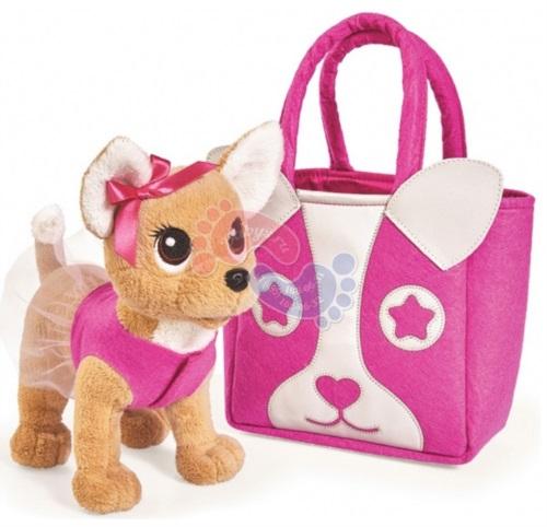 Мягкая игрушка Simba Chi Chi Love Собачка Модница 20 см 5893121