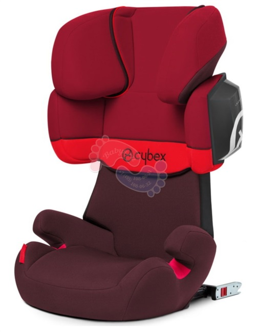 Автокресло Cybex Solution X2-Fix Rumba Red