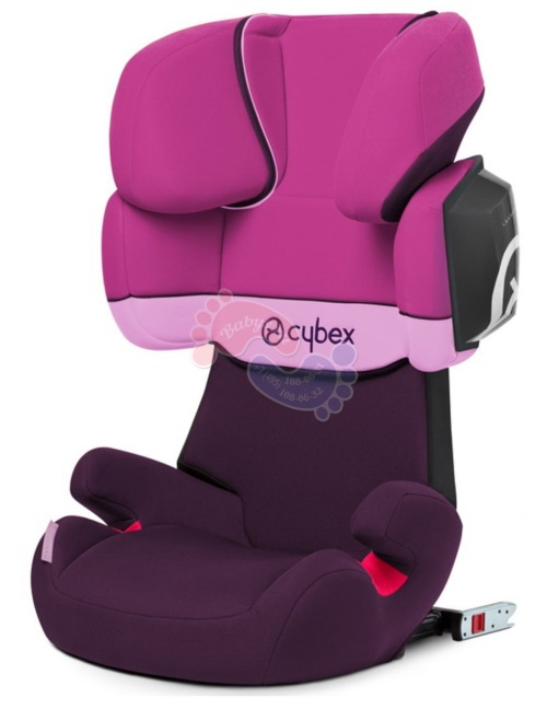 Автокресло Cybex Solution X2-Fix Purple Rain