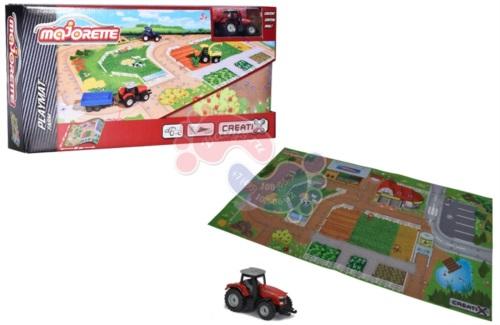Игровой коврик Majorette Creatix Farm серии нескользящий 2056413