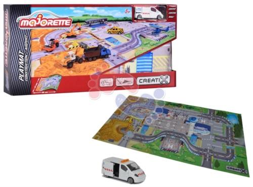 Игровой коврик Majorette Creatix Construction серии нескользящий 2056412
