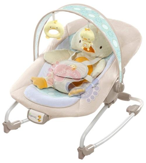 Детская кресло-качалка Bright Starts InGenuity Утенок 10251