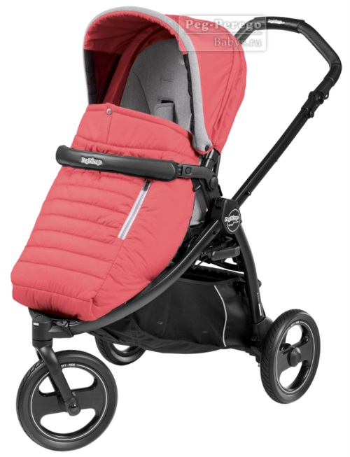 Прогулочная коляска Peg-Perego Book Scout Pop Up Breeze Coral