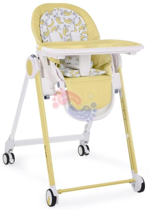 Стульчик для кормления Happy Baby Berny Yellow