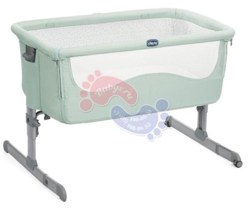 Кроватка Chicco Next2Me Dusty Green 19