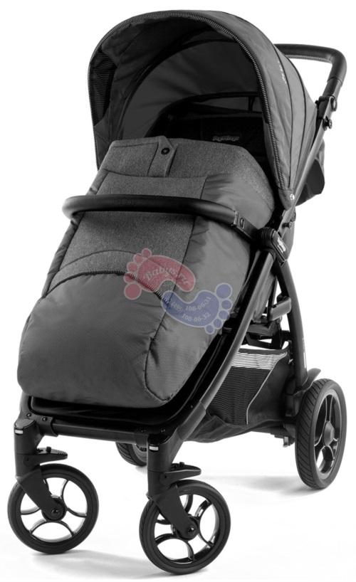 Прогулочная коляска Peg-Perego Booklet 50S Vibes Black