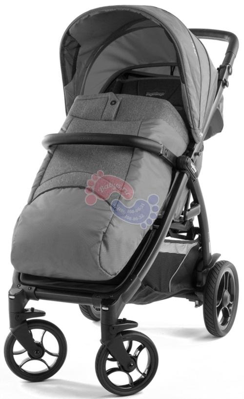 Прогулочная коляска Peg-Perego Booklet 50S Vibes Grey