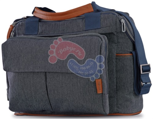 Сумка для коляски Inglesina Dual Bag Village Denim