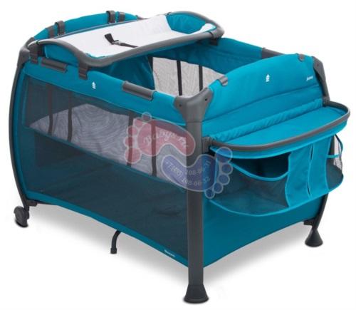 Кроватка-манеж Joovy Room New голубой арт.7030