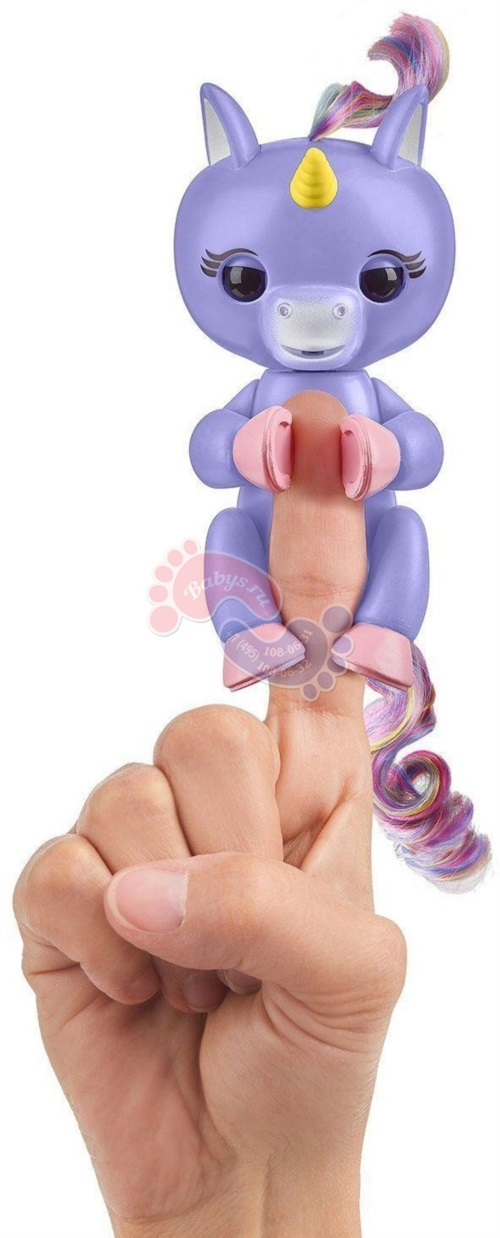 Интерактивный единорог Fingerlings Алика 3709