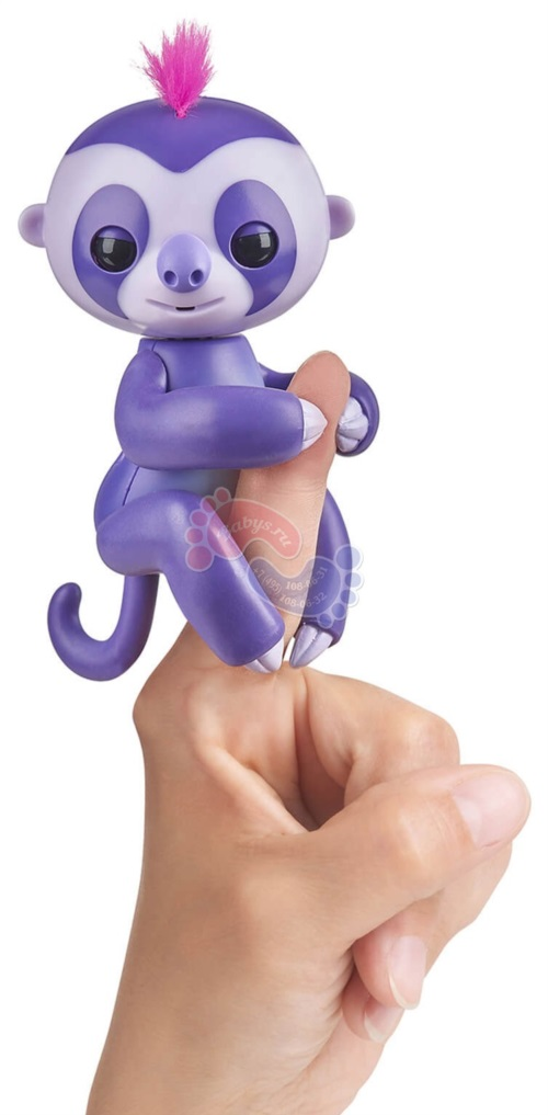 Интерактивный ленивец Fingerlings Мардж 3752