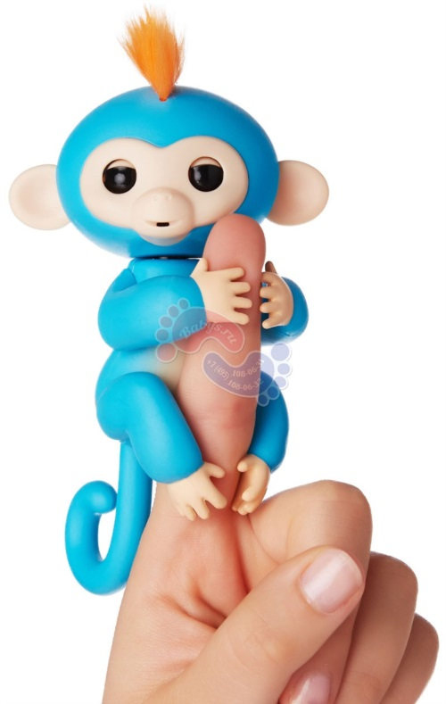 Интерактивная обезьянка Fingerlings Борис 3703А