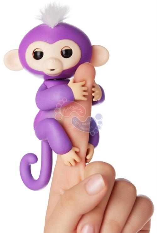 Интерактивная обезьянка Fingerlings Миа 3704А