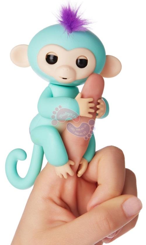 Интерактивная обезьянка Fingerlings Зоя 3706А
