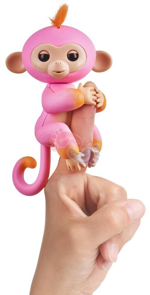 Интерактивная обезьянка Fingerlings двухцветная Саммер 3725
