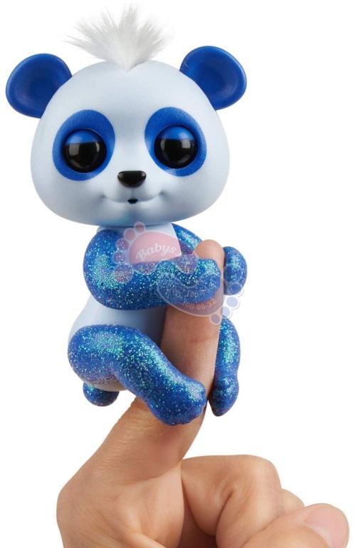 Интерактивная панда Fingerlings в блестках Арчи арт.3563